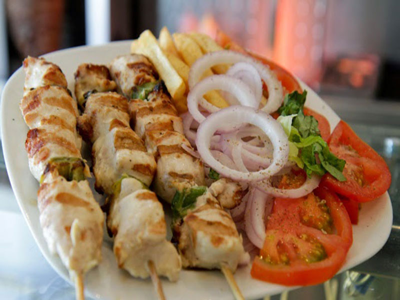 Souvlaki chicken