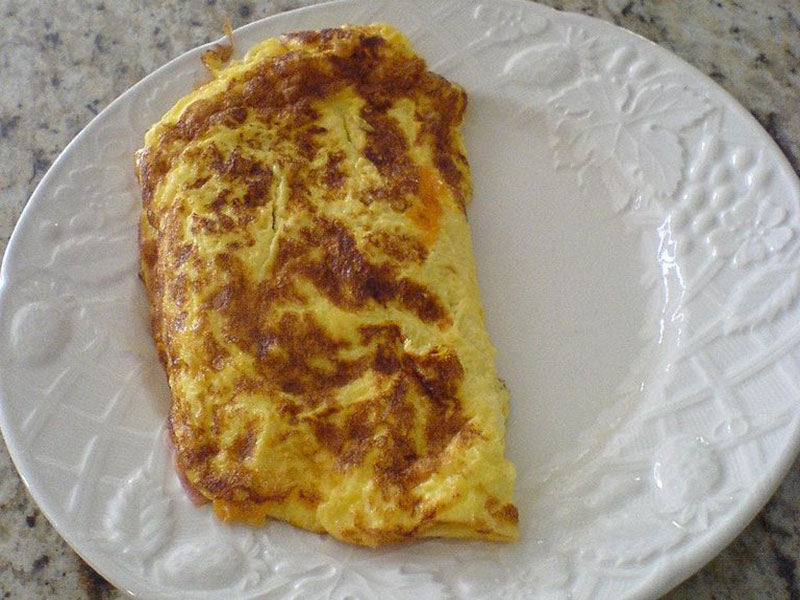 Classic omelette